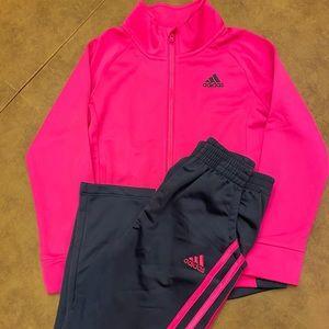 Girls 6X Adidas Set